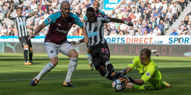 Christian Atsu excelled for Newcastle United on Saturday