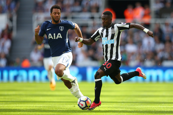 Christian Atsu on his EPL return, in action for Newcastle United