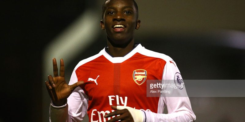 Eddie Nketiah scored for Arsenal