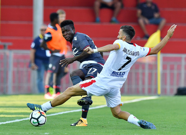 Godfred Donsah scored for Bologna
