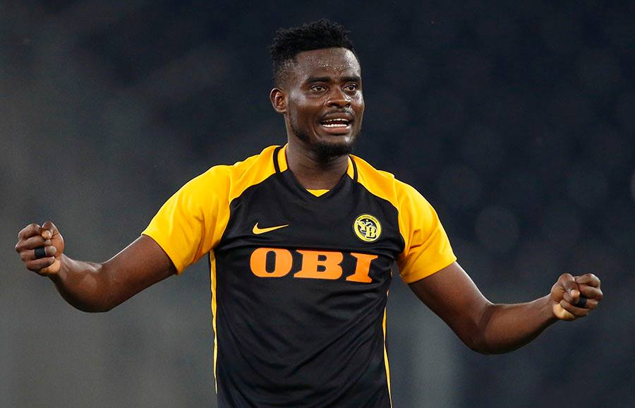 Kasim Nuhu scored for Young Boys