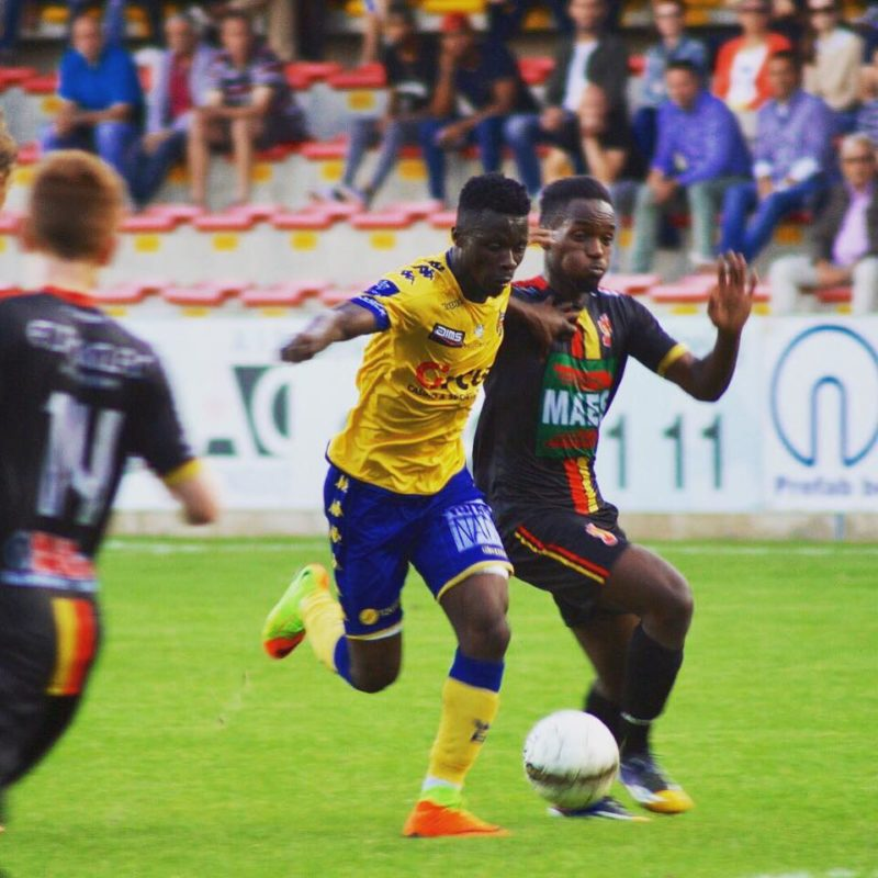 Nana Ampomah scored for Waasland