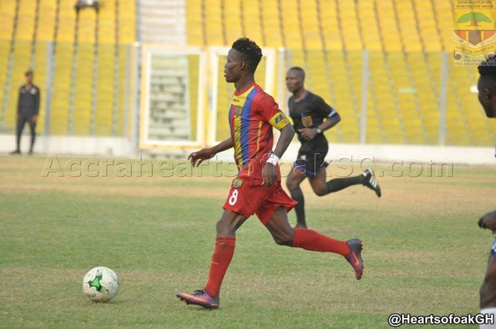 Samudeen Ibrahim holds talks with Hearts of Oak possible return