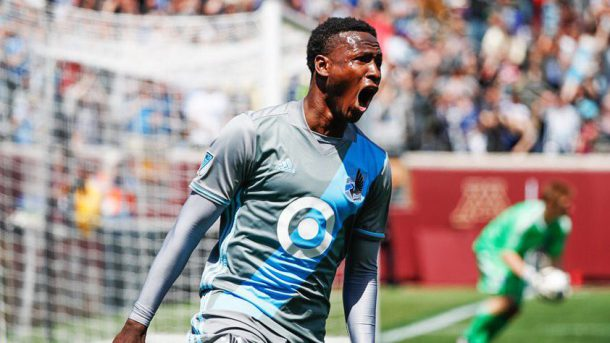 Abu Danladi scored for Minnesota United