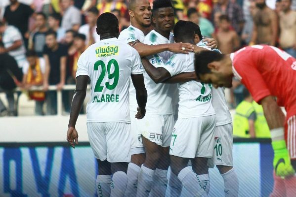 Agyemang-Badu assisted for Bursaspor
