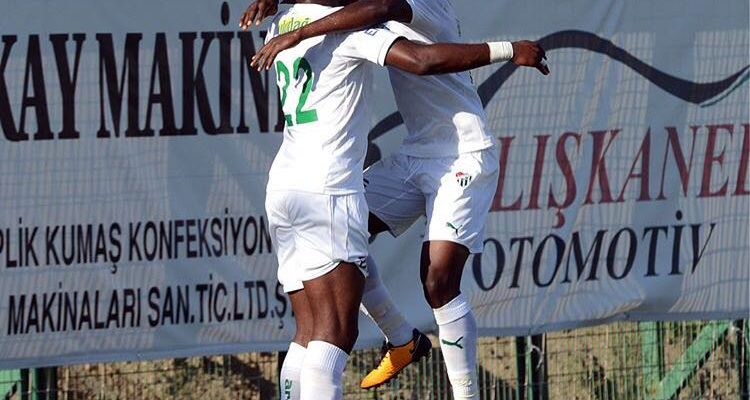Agyemang-Badu scored for Bursaspor on Sunday