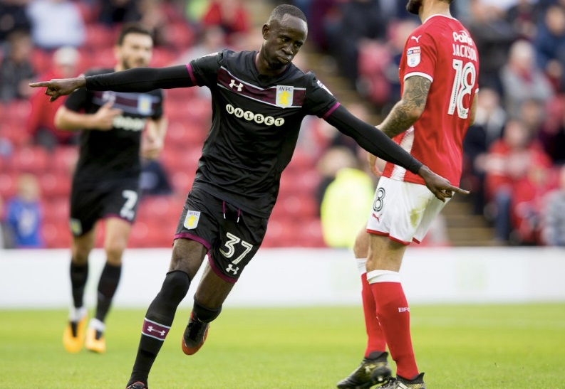 Albert Adomah grabbed brace for Villa