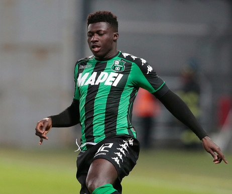 Alfred Duncan is 10th highest paid at Sassuolo
