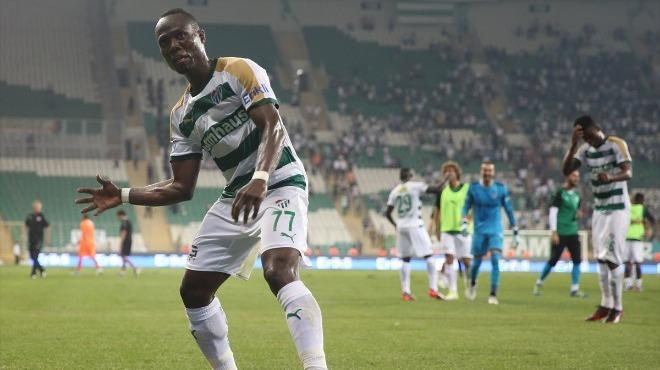 Badu set up a goal for Bursaspor
