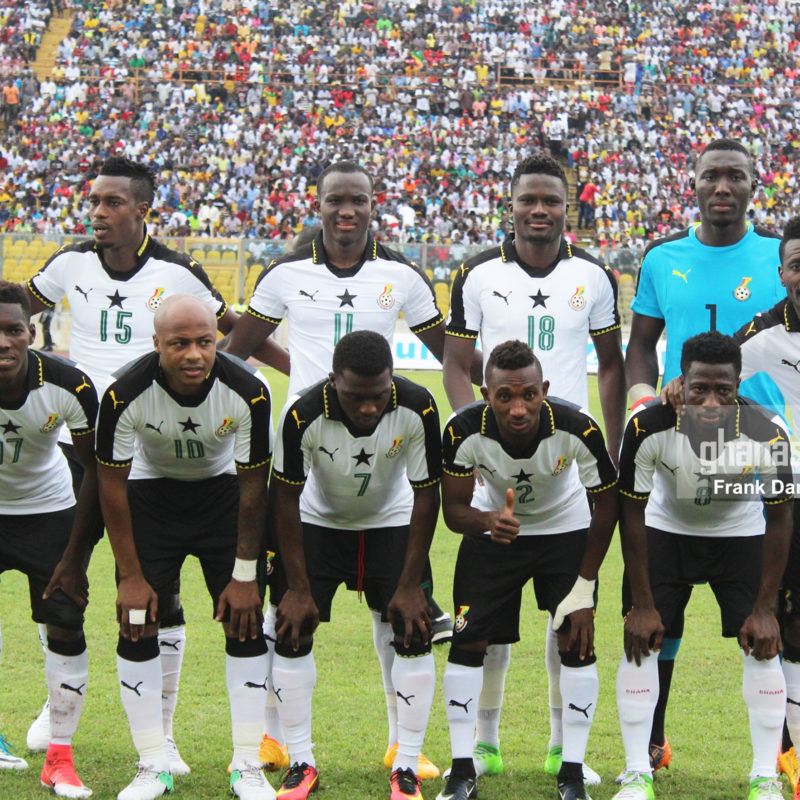 Black Stars have dropped places on the FIFA ranking
