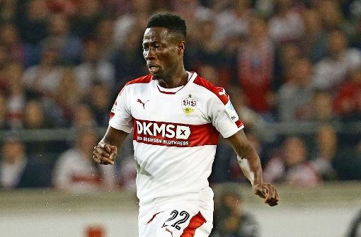 Ebenezer Ofori plays at Stuttgart