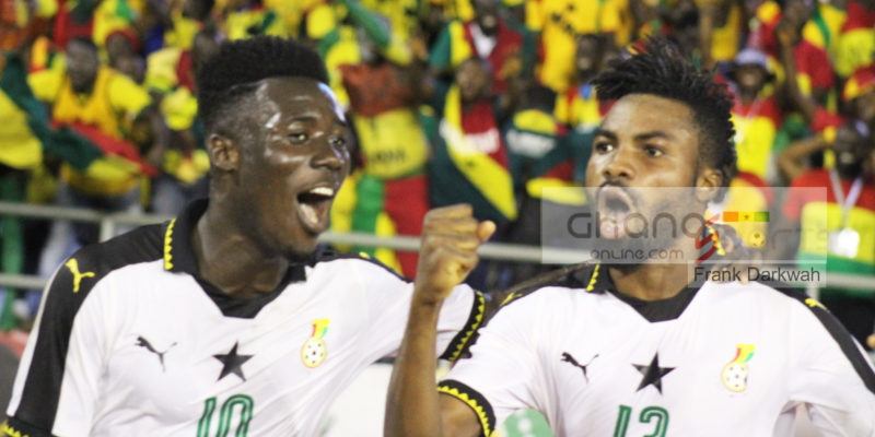 Winful Cobbinah assisted his Hearts of Oak team-mate Kwame Kizito for Ghana's opening goal