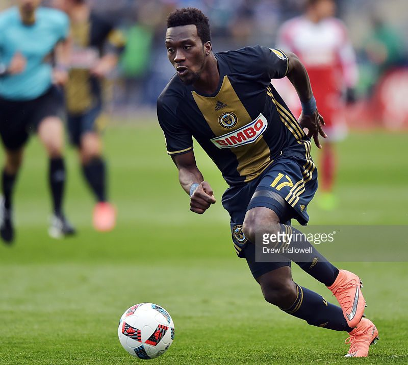 Ghanaian Charles Sapong scored for the Union
