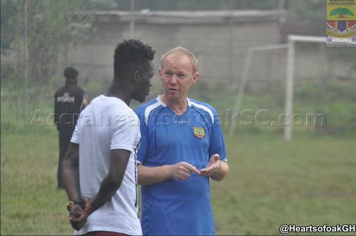 Hearts of Oak welcome stars to training