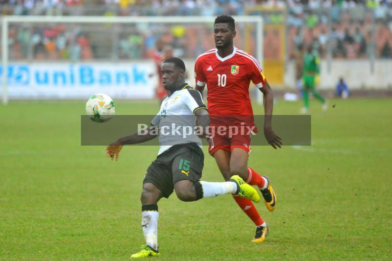 Ghana recovered to defeat Congo 5-1