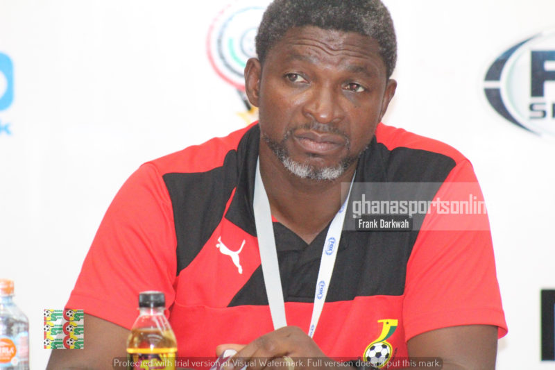 Maxwell Konadu told journalists he benched Winful Cobbinah because he doesn't want him to feel too special