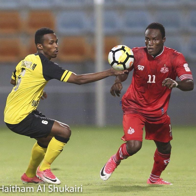 Lawson Bekui wins Oman Super Cup title