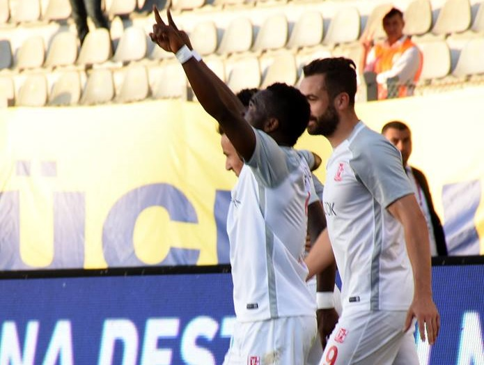 Mahatma Otoo scored for Balikesirspor