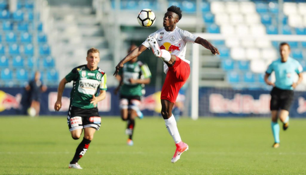 Prodigious Mensah has dazzled for at Salzburg