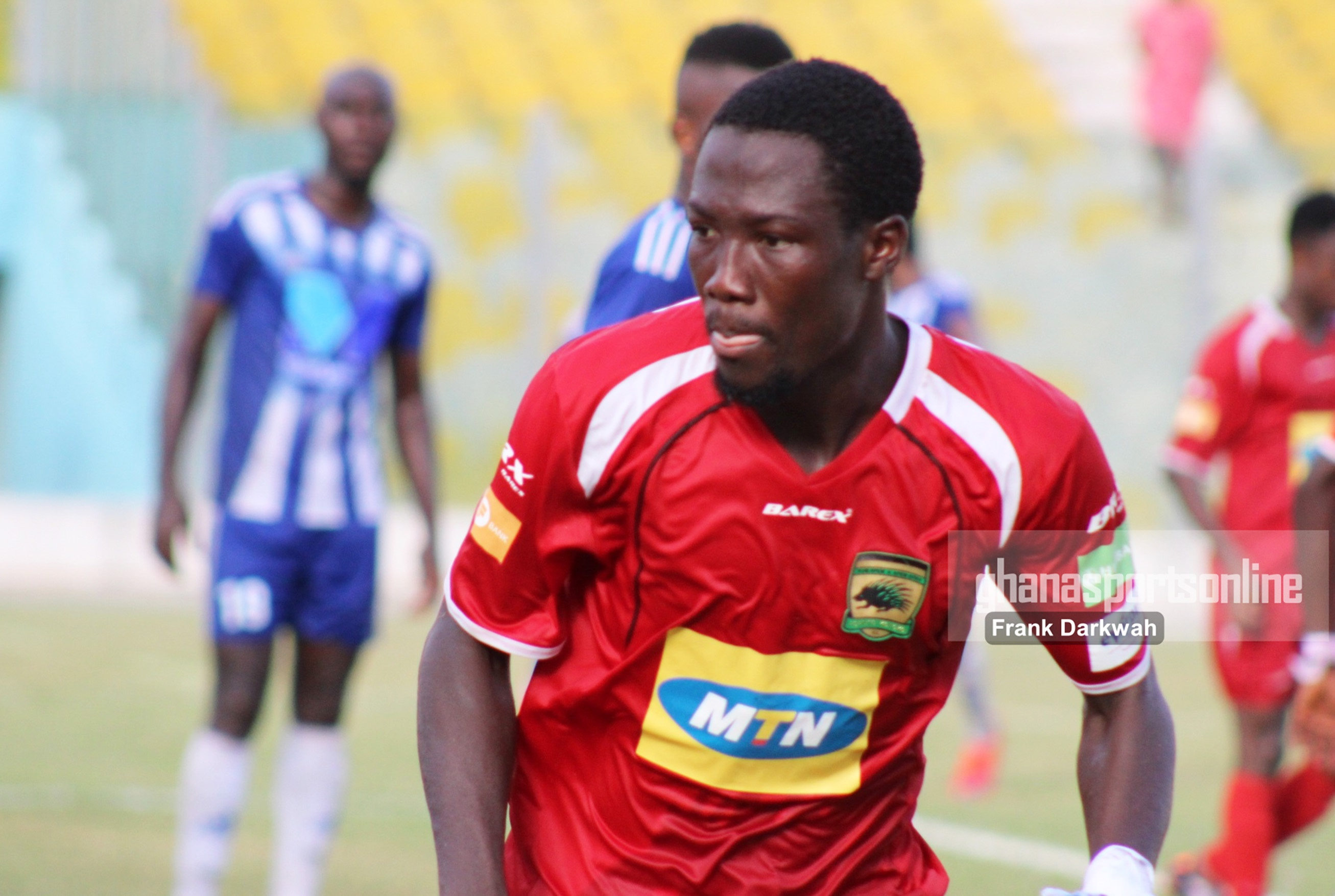 Four GPL clubs chasing signature of Abass Mohammed