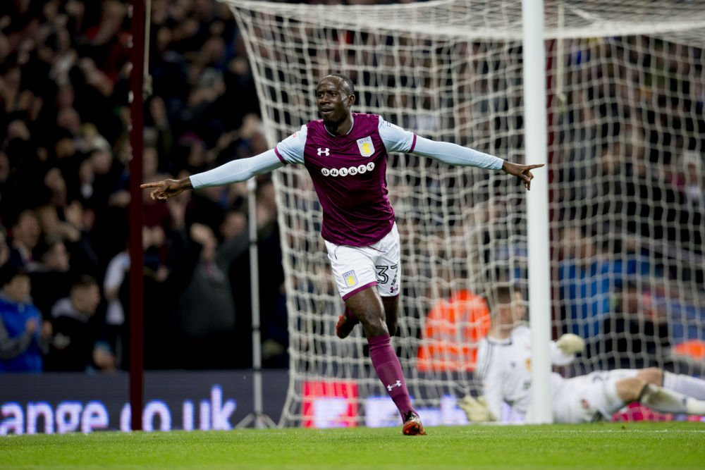 Albert Adomah on target in Aston Villa's home win over Sunderland in English Championship