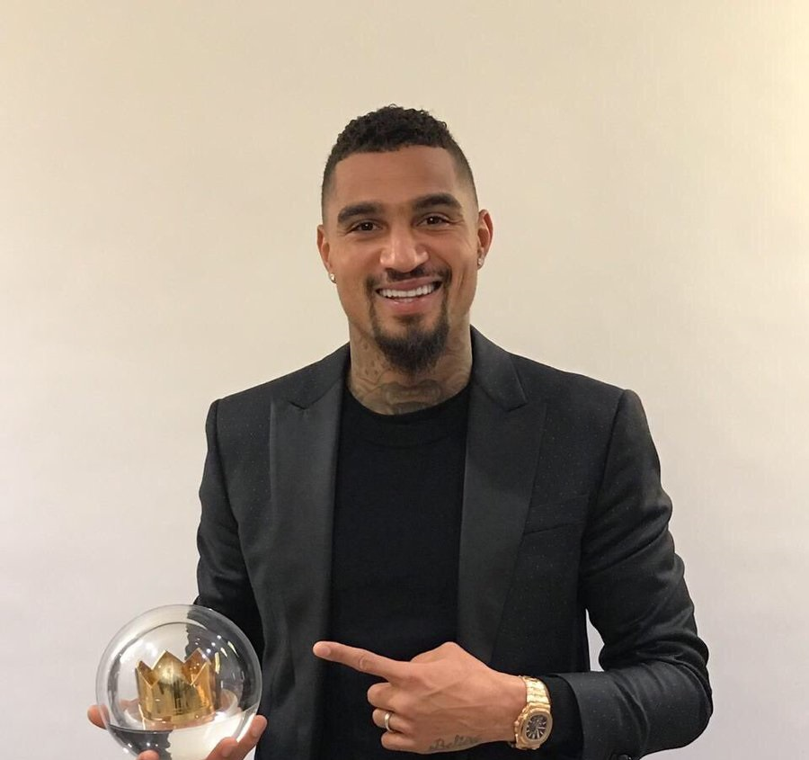 Kevin-Prince Boateng awarded for campaign against racism