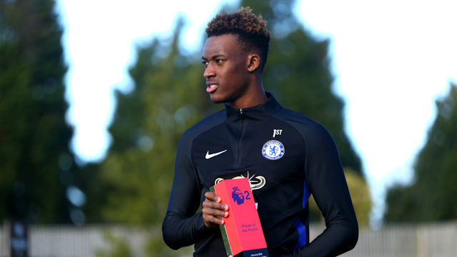 Ghanaian starlet Callum Odoi wins Player of the Month Award in England