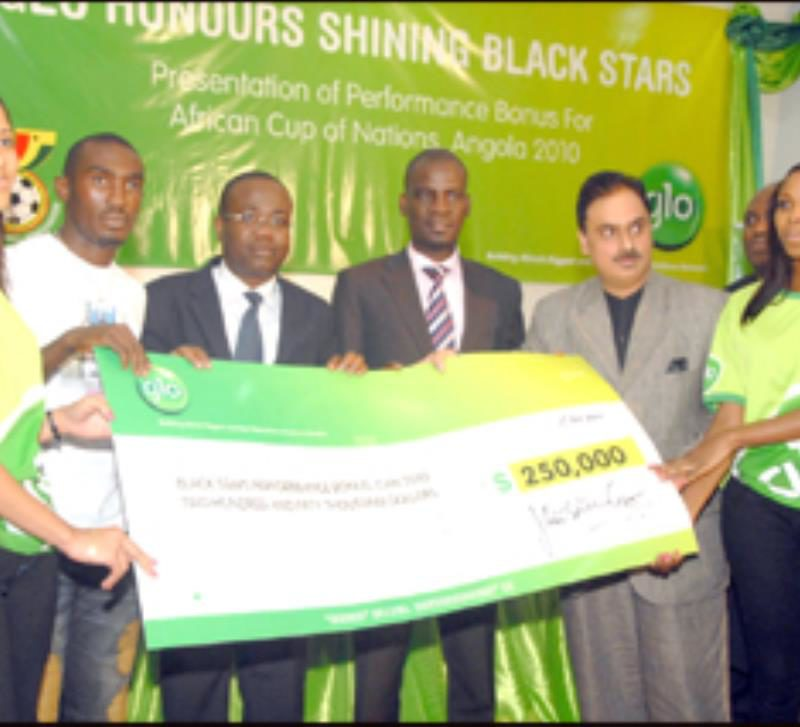 GLO sponsored Ghana Premier League between 2009 and 2012