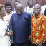 EK Afranie Memorial Foundation pay courtesy call on President Akufo-Addo