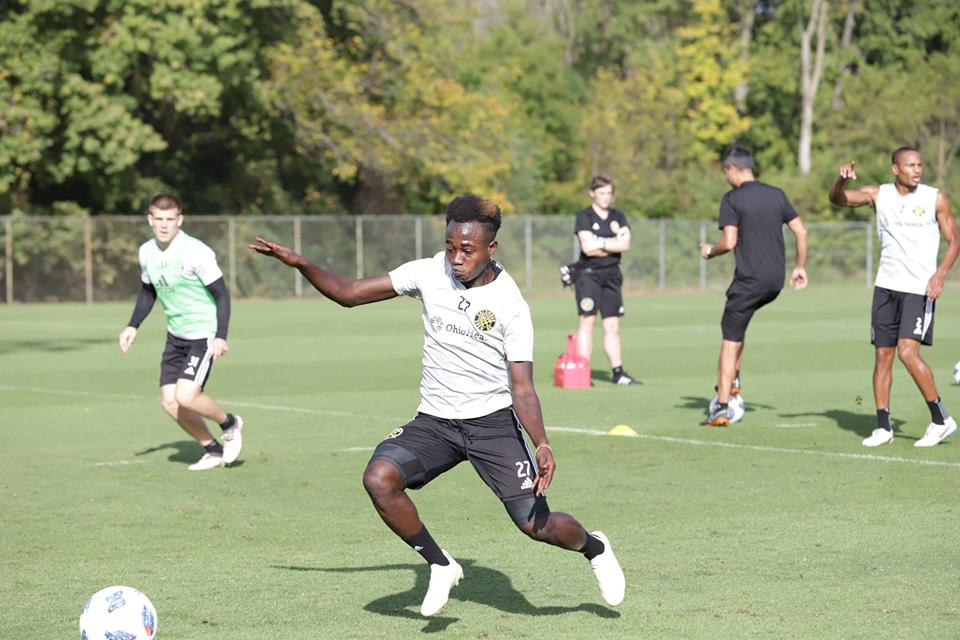 Youngster Edward Opoku