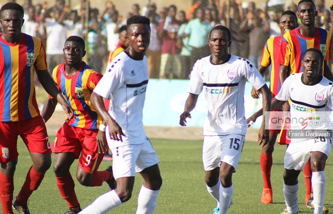 Hearts of Oak lose to Inter Allies in anniversary match