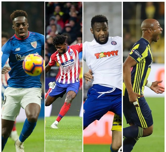 Performance of Ghanaian Players Abroad: Ayew, Partey, Inaki & Said light up Europe with goals as Kyei, Tetteh and NINE others score 15 GOALS PLUS youngsters impress in Italy, Germany & more