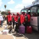 PHOTOS: Kotoko touch down in Kenya for CAF Confederation Cup match