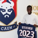 French Ligue 1 side Caen renew contract of Ghanaian teenager Godson Kyeremeh