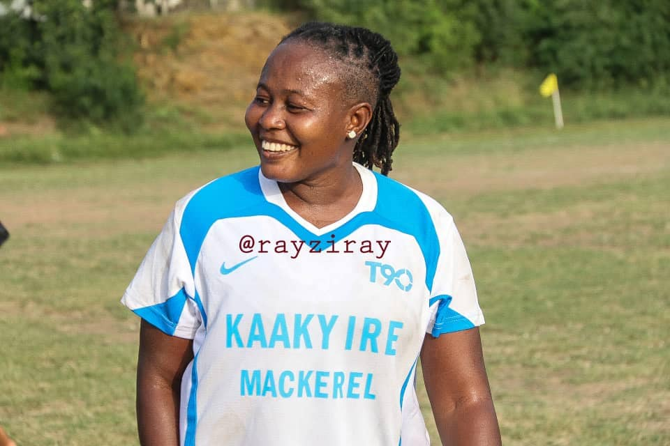 39-year-old Ex-Black Queens captain Adwoa Bayor returns to the pitch in NC Special competition