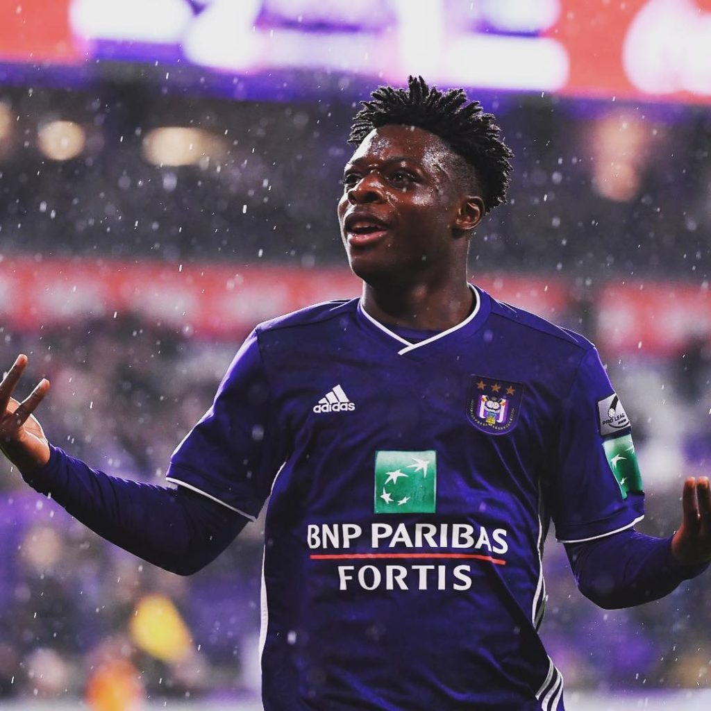 Jeremy Doku has starred in cameo shows for Anderlecht this season.