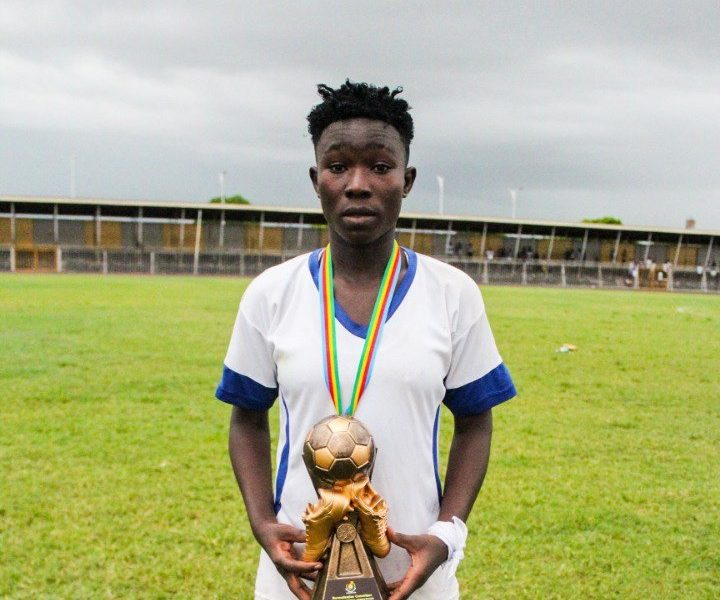 Ampem Darkoa Ladies midfielder Grace Asantewaa adjudged best player in NC Special Women's Cup – Ghana Sports Online Grace Asantewaa 711 720x600