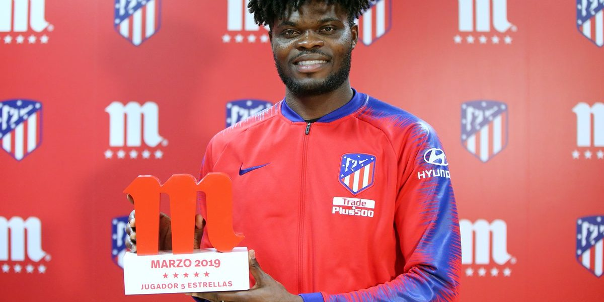 Thomas Partey named Atletico Madrid player of Month – Ghana Sports Online Partey 831 1200x600
