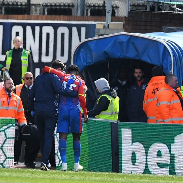 Crystal Palace ace Jeffrey Schlupp ruled out for the rest of the season