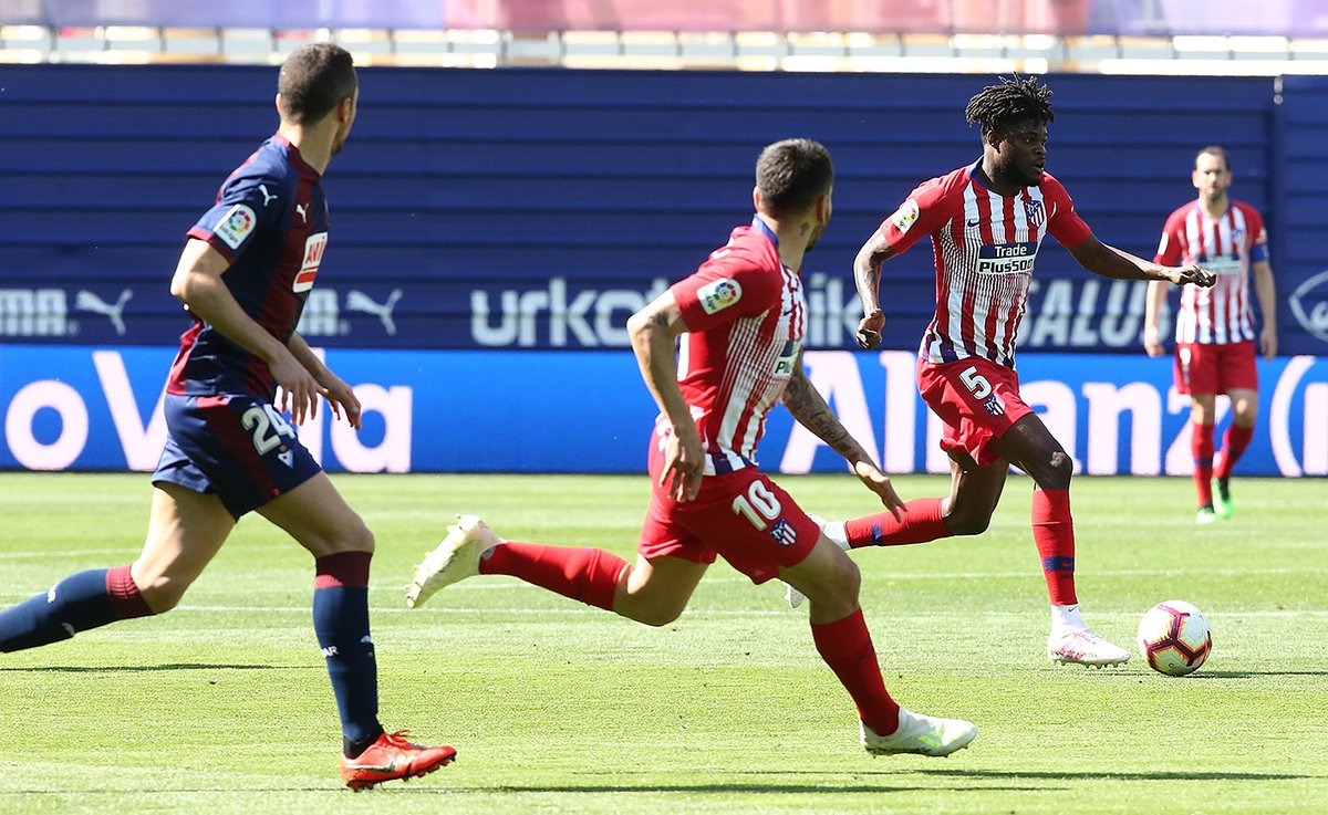 Thomas Partey wants Atletico Madrid to win remaining League games