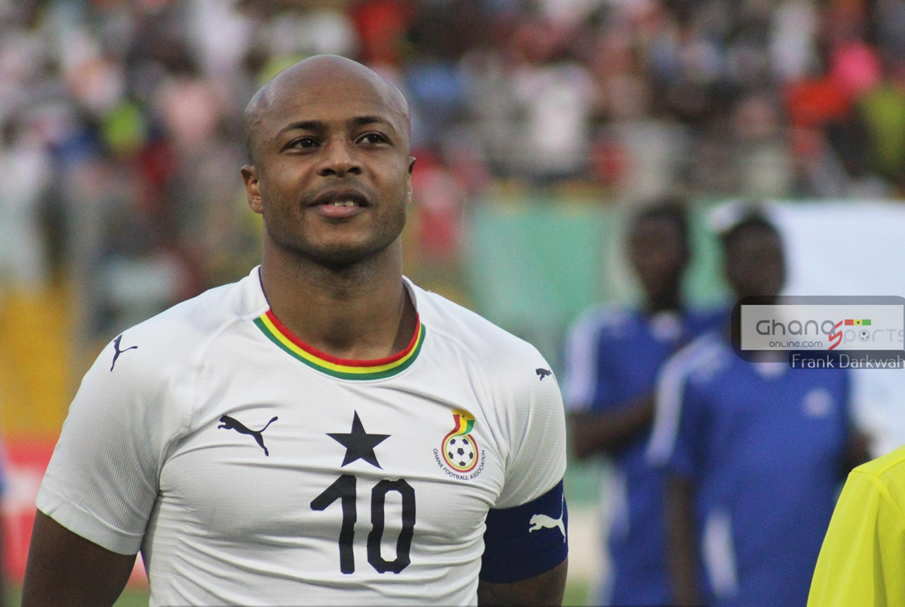 Andre Ayew to captain Black Stars at AFCON 2019 after Gyan's unexpected retirement