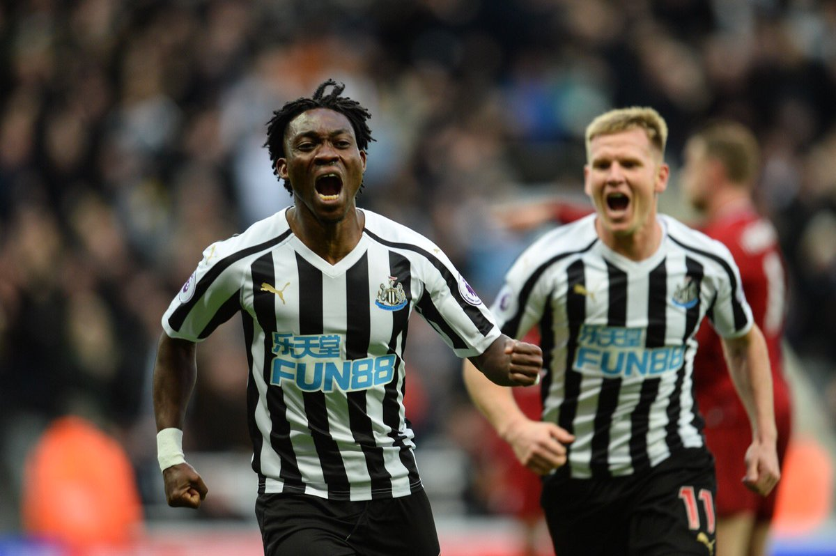 Christian Atsu's kits at Newcastle United auctioned to raise funds for Charity