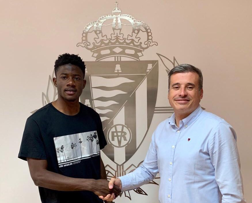 Ghanaian defender Mohammed Salisu extends contract with Spanish Club Real Valladolid
