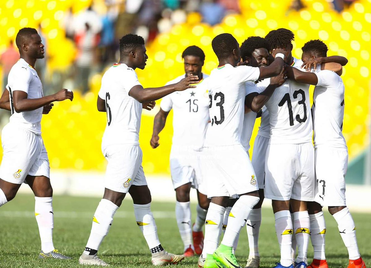 Black Stars starting XI against South Africa