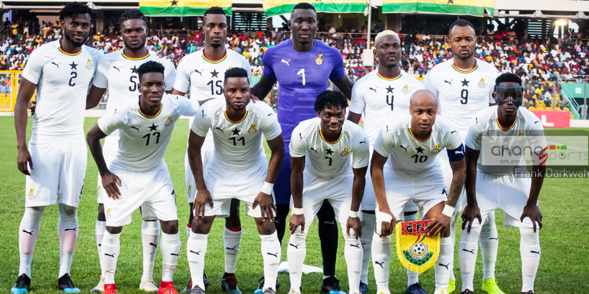 new styles ff869 62cae OFFICIAL: Black Stars 23-man squad for AFCON 2019 – Ghana ...