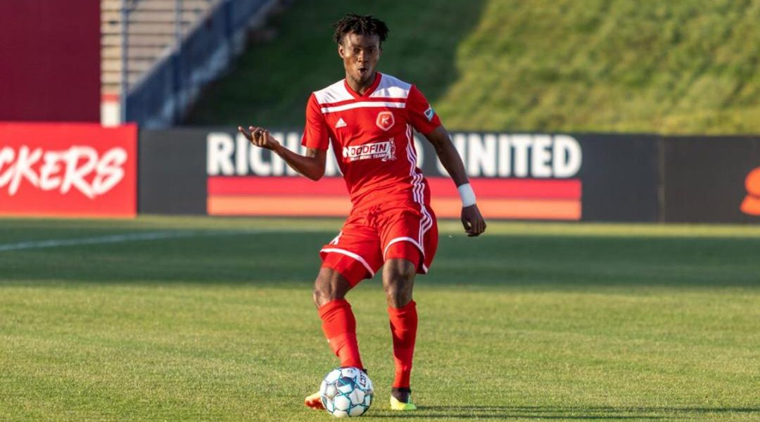 Ghanaian defender Wahab Ackwei named in USL League Team of the Week for the fourth time