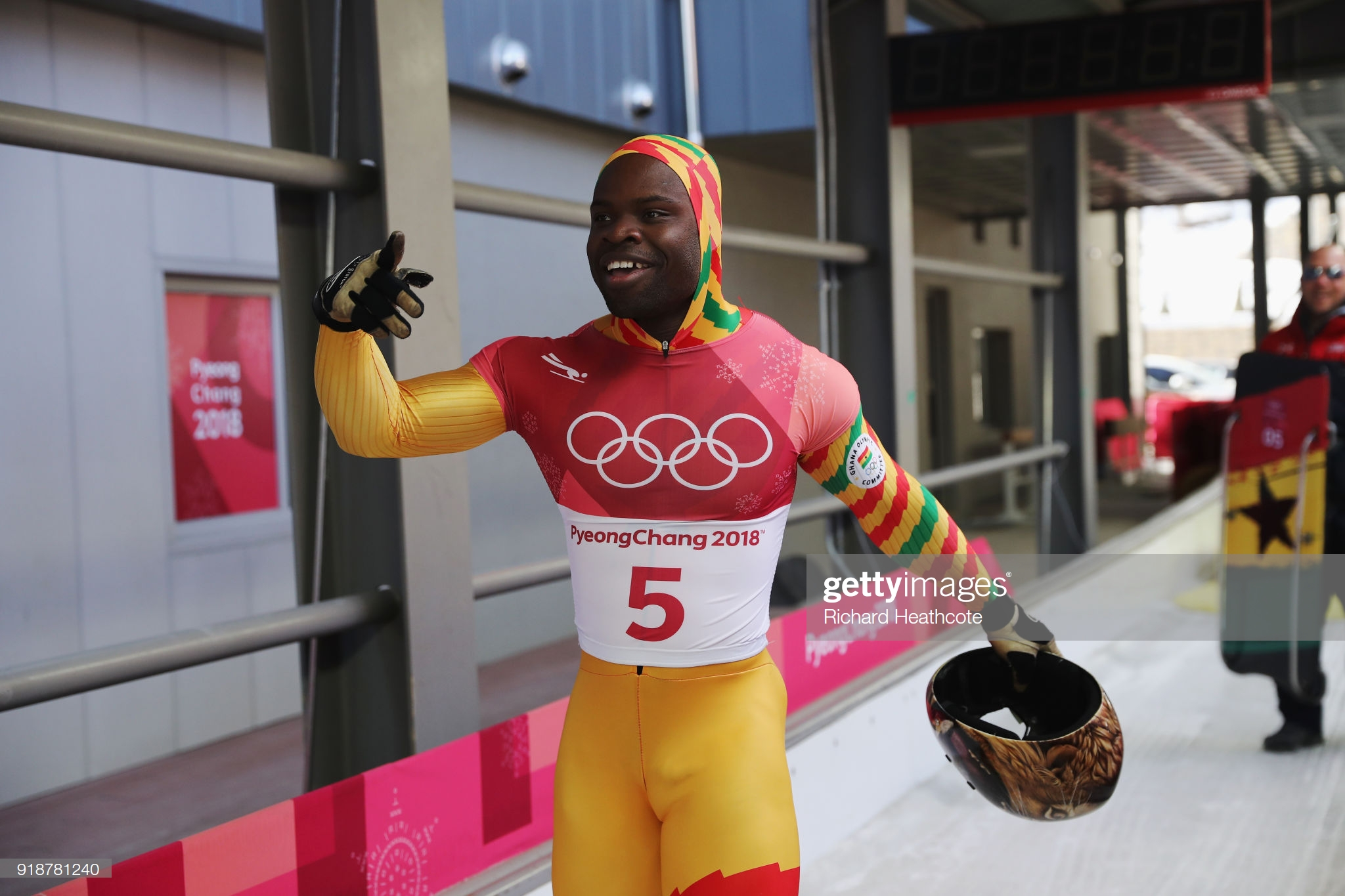 The Hidden Hero Making It Happen For Ghana's Olympian Akwasi Frimpong