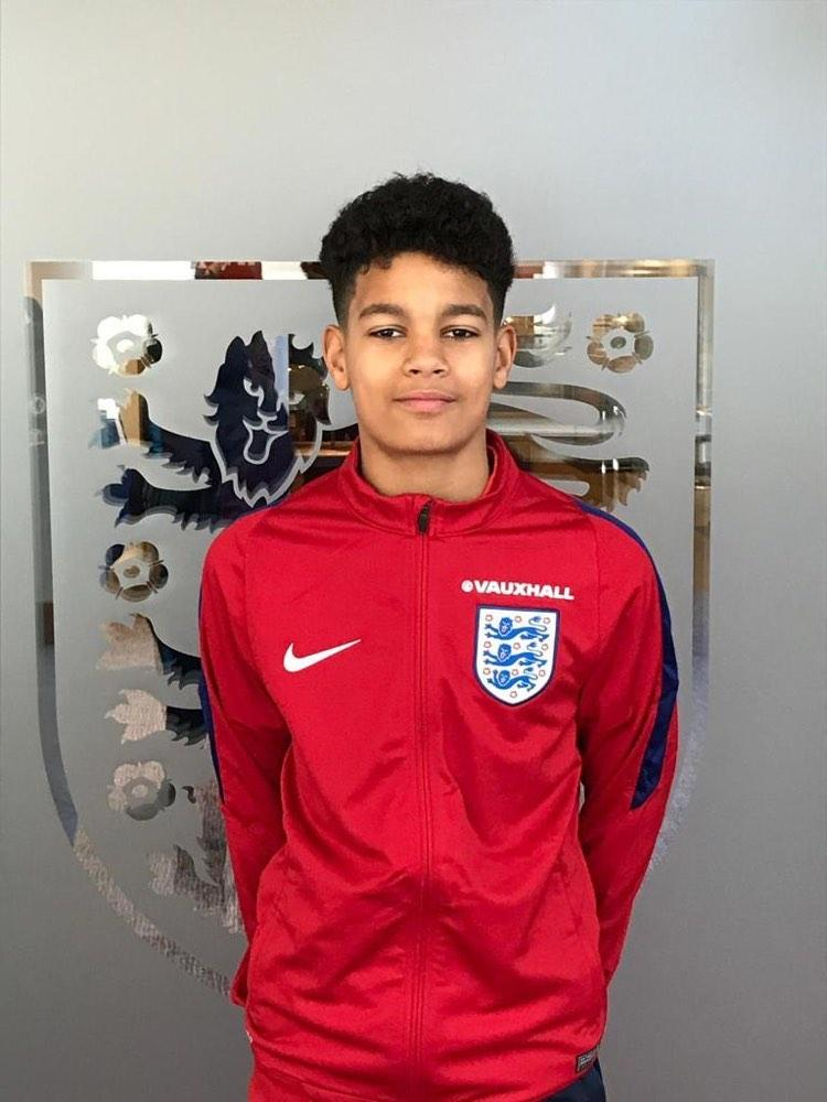 Despite being an England youth international he has left the door opened for Ghana