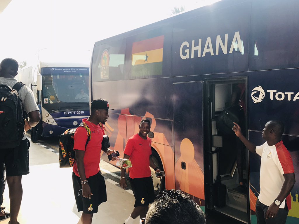 VIDEO: Black Stars quickly depart to Ghana after Sao Tome victory