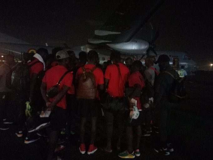 Black Stars arrive from Sao Tome after AFCON qualifier victory